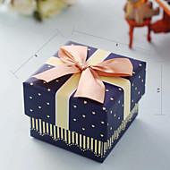 비 개인화-기념일 / 브라이덜 샤워 / 베이비 샤워 / 성인식 & 스윗 16 / 생일 / 웨딩-클래식 테마-기프트 박스(블루,카드 종이)