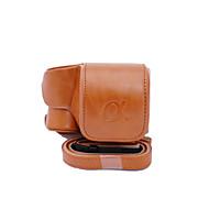 dengpin® pu lederen case camera tas dekking voor sony ilce-6300 a6300 16-50 lens (verschillende kleuren)