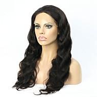 Glueless plné krajky paruky panenské brazilské lidské vlasy zvlněné krajky přední paruky pro černé ženy s dítětem vlasy
