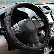 somatología cubierta del volante de cuatro estaciones de color beige gris y negro