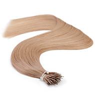 """neitsi® 20 """"1 g / s nano Ringschleife gerades Haar 100% Echthaar Haarverlängerungen sind Haar-Tools"""