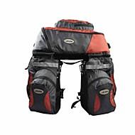 Doite® Kerékpáros táska 65LLTúratáska csomagtartóra/Kétoldalas túratáska / Kerékpár HátizsákVízálló / Fényvisszaverő csík / Porbiztos /