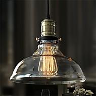 40 Lámparas Colgantes ,  Rústico/Campestre Galvanizado Característica for Los diseñadores VidrioSala de estar / Dormitorio / Comedor /