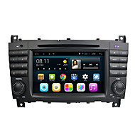 Android 4.4.4 Car DVD Player GPS for BENZ C-CLASS W203 with Quad-Core Contex A9 1.6GHz,Radio,RDS,BT,SWC,Wifi,3G