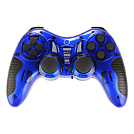 Six in One Wireless Controller for Usb/PS2/PS3/PS1/Android TV Set/Android TV Box/WIN10 Blue