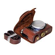 dengpin® pu bőrből készült tok táska fedezetet FUJIFILM x70 (vegyes színek)
