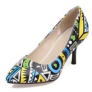 Women's Shoes Stiletto Heel Heels /Rainbow Hues Ankle Strap / Pointed Toe Heels Party & Evening / Dress / Casual