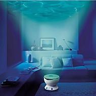 geleid nachtlampje projector oceaan Daren golven projector projectie lamp met luidspreker