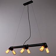 MAX60W Lámparas Araña ,  Cosecha Pintura Característica for Mini Estilo MetalSala de estar / Dormitorio / Comedor / Cocina / Habitación