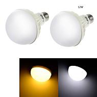 YouOKLight® 2PCS E27 12W CRI>70 18*SMD5630 850LM  Cold White 6000K/ Warm White 3000K LED Globe Bulbs (AC220-240V)