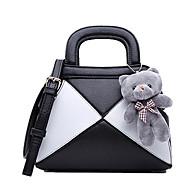 HOWRU ® Women 's PU Tote Bag/Single Shoulder Bag/Crossbody Bags-Pink/Black/Gray