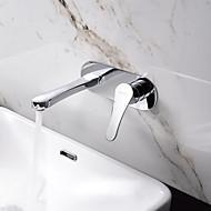 Wall Mounted Single Handle Bathroom Sink Faucet Basin Mixer