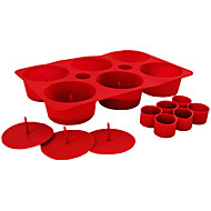 6 Grid Cute Layer Silicone Baking Mold Muffin Non Stick Pan Donut Maker