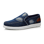 Men's Shoes Amir New Fashion Hot Sale Office/Casual Canvas Fashion Sneakers Navy Blue/Light Blue