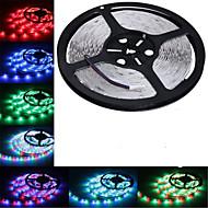 5M HRY® SMD 3528 RGB 300 LED Color Changing Flexible Strip Light (DC12V)
