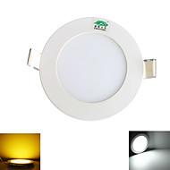 Zweihnder W437 Wiring 4W  380LM 3000-3500/5500-6500K 20x2835 SMD LEDs Warm/White Light Ceiling Light (AC 100-265V)