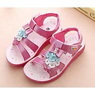 Girls' Shoes Dress Open Toe Sandals Pink / White / Fuchsia