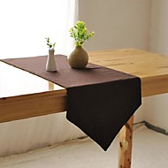 European Sliod Coffee Table Runner Fashion Hotsale High-grade Cotton Linen Table Top Deco