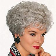 europa og usa høj kvalitet mode høj kvalitet høj temperatur syntetisk hår silke kort hår paryk