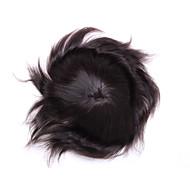 """8 """"x 10"""" męska peruka pełna koronka ludzki włos peruki zamknięcia ludzkie włosy średniej długości fryzury dla włosów cienkich"""