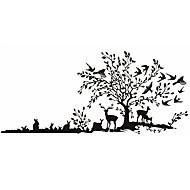 Animais / Botânico / Desenho Animado / Romance / Moda / Comida / Feriado / Paisagem / Formas / Fantasia Wall StickersAutocolantes de