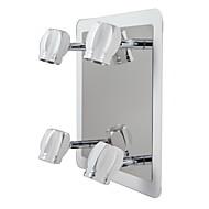 LED Modern Chrome Wall Lights/Bathroom Lights With 4 Lights 12W (AC100-240V)