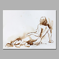 Acrylic Paintings Simple Modern Style Sexy Nude Girl For Home Deco Paintings Artcraft Gift