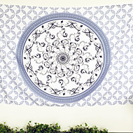 Bedclothes Beautiful World Hippie Wall Tapestry Indian Mandala Tapestry Fabric 140cmx210cm alfombras salon Factory