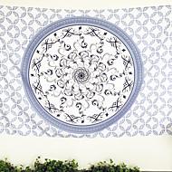 Tkanina Modrá,S potiskem Geometrický 100% polyester přikrývky 140cmx210cm