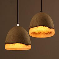 Cement Resin Pendant Hanging Light Chandeliers Lamp Fixture For Kitchen Dining Bar Interior Art Deco Lighting
