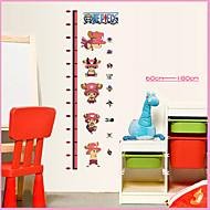 60-180Cm Cartoon One Piece Wall Stickers Tony Tony Chopper Kids Height Wall Sticker PVC Home Decor