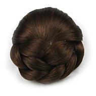 verworrene lockige europa braun Braut Chignons menschliches Haar capless Perücken dh102 2009