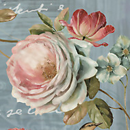 JAMMORY Floral Wallpaper Contemporary Wall Covering,Canvas Large Mural Peony
