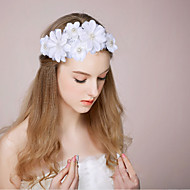 Women's / Flower Girl's Satin / Imitation Pearl Headpiece-Wedding / Special Occasion Hair Combs / Hair Clip 1 Piece