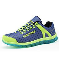 Women's Running Shoes Tulle Flat Heel Comfort Fashion Sneakers Outdoor Yellow / Green / Purple