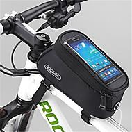 ROSWHEEL® Fahrradtasche 1.5LFahrradrahmentasche Wasserdichter Verschluß Feuchtigkeitsundurchlässig Stoßfest tragbar Tasche für das RadPVC