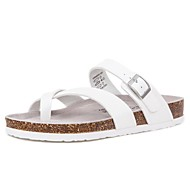 Men's Shoes Outdoor / Office & Career / Athletic / Casual Leather Flip-Flops White