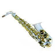 HYS - h885 drop e alto saxophone kanal hvidguld-bonding altsaxofon