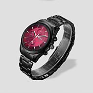 Men's  Quartz Black Steel Strip Waterproof Fashion Watches Wrist Watch Cool Watch Unique Watch