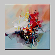 Lager Hand Painted Modern Abstract Oil Painting On Canvas Wall Art Picture For Home Whit Frame Ready To Hang
