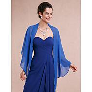 Etoles de Femme Châles Sans manches Mousseline Bleu royal Mariage / Soirée