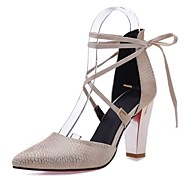 Women's Shoes Chunky Heel Heels / Ankle Strap / Pointed Toe Sandals Office & Career / Party & Evening /