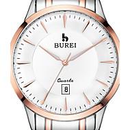 BUREI ® Men's Brand Stainless Steel Business Watch with Calendar Function Fashion Quartz Sapphire Wrist Watch & Jewelry Cool Watch Unique Watch