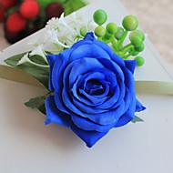 """פרחי חתונה בצורה חופשיה ורדים זר פרחים לפרק כף יד חתונה / חתונה/ אירוע פוליאסטר / סאטן 5.12""""(לערך.13ס""""מ)"""