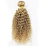 Précolorée Tissages Cheveux Cheveux Brésiliens Bouclé 6 Mois 1 Pièce tissages de cheveux