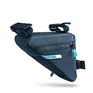 ROSWHEEL® Kerékpáros táska 1.2LVáztáska Vízálló cipzár / Párásodás gátló / Ütésálló / Viselhető Kerékpáros táska PU Bőr / 500D Nylon