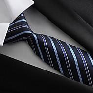 Cravate Vintage / Soirée / Travail Polyester,Homme Toutes les Saisons