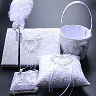 New Style Embroidery Ring Pillow 4 Pcs In One Set