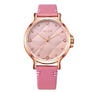 Julius® New Arrival Women Watch Rhinestone Dial Leather Belt Waterproof Quartz Fashion Schoolgirl Wristwatch Cool Watches Unique Watches