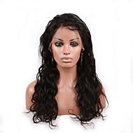 evawigs פאות בתולה אדם ברזילאים 20inch גל רופף גדול פאות פאות תחרת שיער אדם